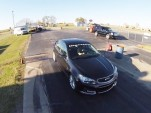 Hennessey's HPE600 2014 Chevrolet SS at the drag strip