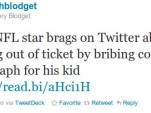 Henry Blodget's tweet on Ray Rice's ticket-dodging autograph