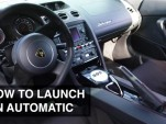 Here's how you launch a car with an automatic gearbox