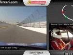 Here's what a lap of Daytona looks like from a Ferrari 458 Challenge car