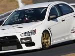 HKS prepped Mitsubishi Lancer Evolution X