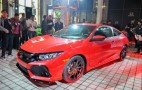 2017 Honda Civic Si Coupe prototype debuts at LA auto show
