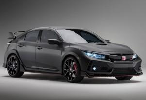 Honda Civic Type R Prototype, 2016 Paris auto show