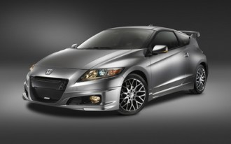 2011 Honda CR-Z Sport Hybrids at SEMA