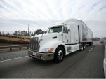 Honda Diesel/Electric Hybrid Transport Truck