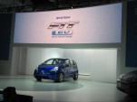 2012 Honda Fit EV electric car concept, launched at 2010 Los Angeles Auto Show