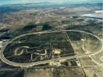 Honda Proving Grounds, Bakersfield, California, aerial photo