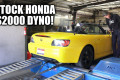 Engineering Explained's Honda S2000 on the dyno
