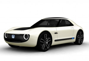 Honda's second electric-car concept is Sports EV coupe unveiled in Tokyo