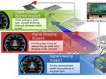 Honda traffic signal information system