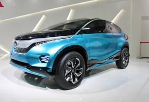 Tiny SUVs Shown By Chevy, VW, Honda At India Auto Expo
