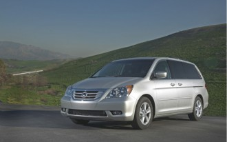 2010 Honda Odyssey: Lowest Cost To Insure Among Minivans