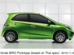 Honda Brio prototype, introduced at the 2010 Thailand Motor Expo