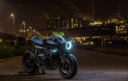 Honda shows CB4 Interceptor Concept with wind-powered generator