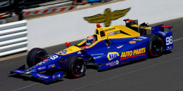2016 winning Honda IndyCar at 100th Indianapolis 500