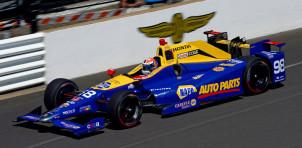 2016 winning Honda IndyCar at 100th Indianapolis 500