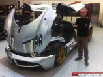 Horacio Pagani and the first customer-specced Huayra
