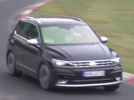 Hot Volkswagen Tiguan R at the Nürburgring