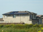 House with 5.3 kW Solar PV, courtesy of SolarEcity, Rocklin, CA.