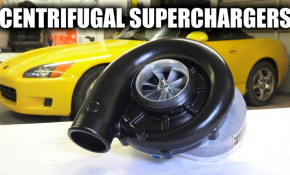 How do centrifugal superchargers work?