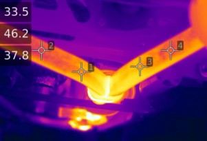 How hot does an exhaust system get?