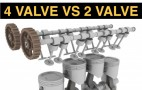 How it works: four-valve versus two-valve engines