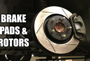 How to change brake pads and rotors
