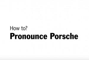How to pronounce Porsche