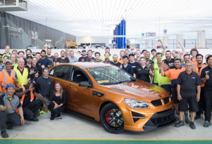HSV's final Holden Commodore-based model is a 2017 GTSR W1