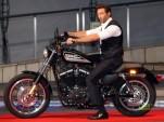 Hugh Jackman and Harley Davidson