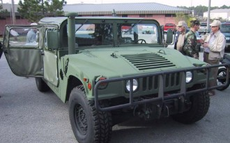 Armoring, And Up-Armoring, The Humvee