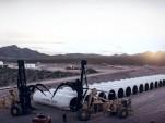 Hyperloop One test site in Nevada