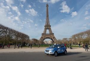 Hyundai Supplies Five Tucson Fuel Cell Taxis To Paris Fleet