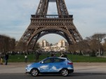 Hyundai ix35 (Tucson) Fuel Cell Paris taxi