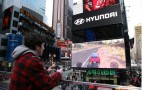 Hyundai Lets You Race The Veloster In Times Square… Virtually: Video