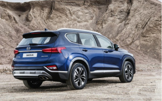 2019 Hyundai Santa Fe emerges with dapper styling