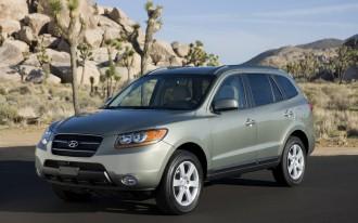 2007-2009 Hyundai Santa Fe: Recall Alert
