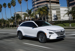 "Hyundai Nexo fuel-cell SUV verdicts: classy, zippier, still a ""niche vehicle"""