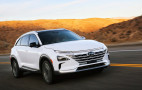Hyundai Nexo hydrogen fuel-cell prototype drives itself 118 miles without human input