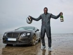 Idris Elba sets new Flying Mile UK land speed record in Bentley Continental GT