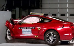 IIHS crash tests 2016 Ford Mustang