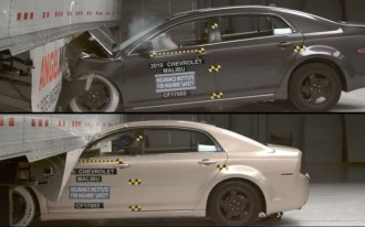 IIHS tests side underride guards on semis (and the results are worth watching)