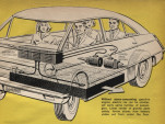 Illustration from December 1966 Popular Science article on electric cars