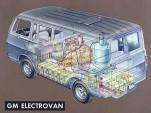 Illustration of GM's 1966 Electrovan Hydrogen Hybrid