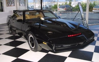 A Dark Knight Indeed: KITT For Sale!