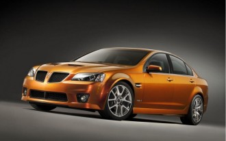 Pontiac G8 Gets Corvette Power in GXP