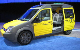 Hey, Taxi! Ford Yellows Up Transit Connect