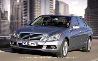 2010 Mercedes-Benz E-Class Spied!