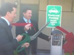 Electric-Car Charging Stations Pop Up All Over, Hotels Included