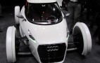 Audi Urban Concept: Live Photos Of Electric Two-Seater Launch